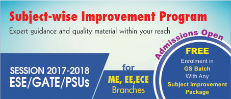 Subject wise improvement program by IES Master
