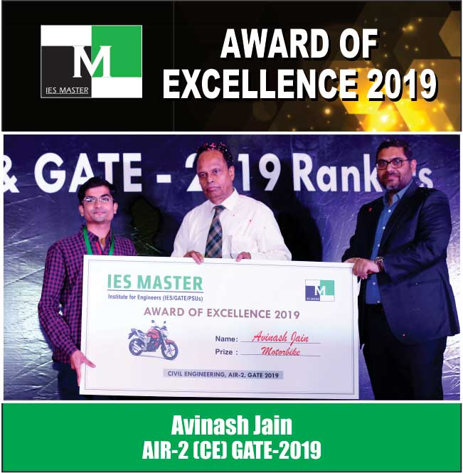Avinash Jain AIR-2 (CE) GATE-2019