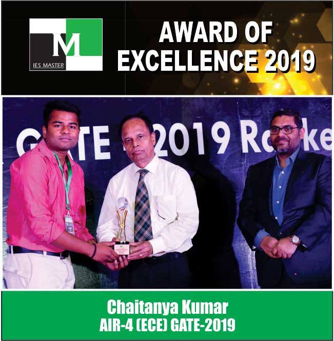 Chaitanya Kumar AIR-4 (ECE) GATE-2019