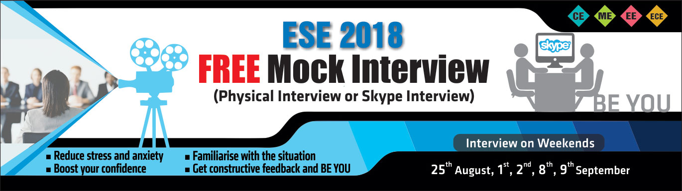 Mock Interview 2018, IES Master