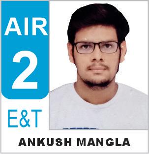 Ankush Mangla (ECE) AIR-2 ESE 2019