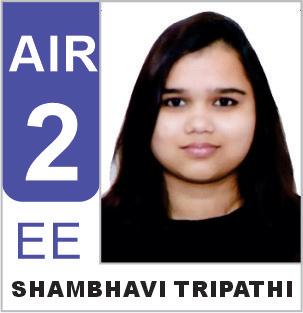 Shambhavi Tripathi (EE) AIR-2 ESE 2019