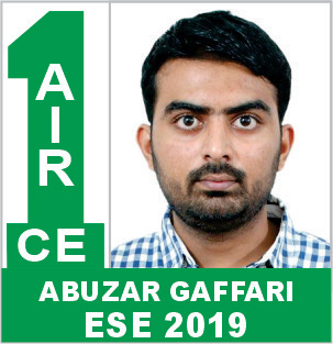 ESE 2019 CE Rank 1