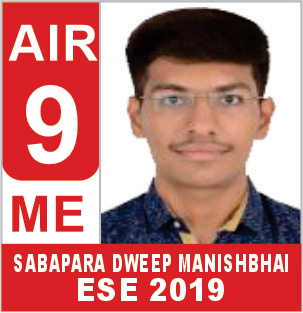 ESE 2019 ME Rank 9