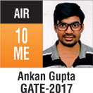 Gate Toppers-Rank 10 (ME)