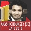 AKASH CHOUKSEY, GATE 2018, RANK 1