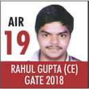 Gate Toppers-Rank 19(CE)