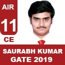 AIR-11-Saurabh-Kumar-CE-GATE-2019-Topper
