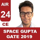 AIR24GATE-2019-Topper-Space-Gupta-(CE)-AIR24-IES-Mater