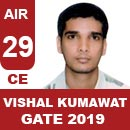 AIR29-GATE-2019-Topper-Vishal-Kumawat-(CE)-AIR29-IES-Mater
