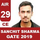 AIR29GATE-2019-Topper-Sanchit-Sharma-(CE)-AIR29-IES-Mater