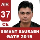AIR37GATE-2019-Topper-Simant-Saurabh-(CE)-AIR37-IES-Mater