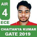 Chaitanya-Kumar (ECE), GATE 2018, RANK 4