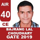 AIR40-GATE-2019-Topper-BAJRANG-LAL-CHOUDHARY-(CE)-AIR40-IES-Mater