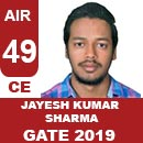 AIR49-GATE-2019-Topper-Jayesh-Kumar-Sharma-(CE)-AIR49-IES-Mater