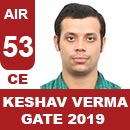 AIR56GATE-2019-Topper-Keshav-Verma-(CE)-AIR56-IES-Mater