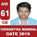 AIR61GATE-2019-Topper-Siddartha-Mandal-(CE)-AIR61-IES-Mater