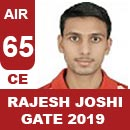 AIR65GATE-2019-Topper-Rajesh-Joshi(CE)-AIR65-IES-Mater