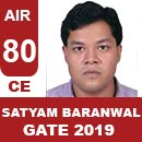 AIR80GATE-2019-Topper-SATYAM-BARANWAL-(CE)-AIR80-IES-Mater