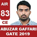 AIR83-GATE-2019-Topper-ABUZAR-GAFFARI-(CE)-AIR83-IES-Mater