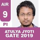 AIR9-GATE-2019-Topper-Atulya-Jyoti-PI-(ME)-IES-Mater