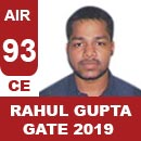 AIR93GATE-2019-Topper-Rahul-gupta(CE)-AIR93-IES-Mater