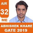 GATE-2019-Topper-ABHISHEK-KHARE-(ME)-AIR88-IES-Mater