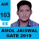 GATE-2019-Topper-Amol-Jaiswal-(EE)-AIR106-IES-Mater