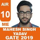 GATE-2019-Topper-MAHESH-SINGH-YADAV-(ME)-AIR10-IES-Mater