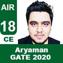 ARYAMAN-GATE-2020-Topper--AIR18-CE