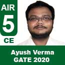 Ayush-Verma-GATE-2020-Topper--AIR5-CE