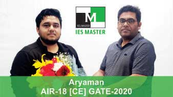 Aryaman-GATE-2020-Topper-AIR18-CE