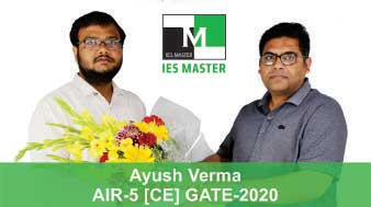Boquet-Ayush-Verma-GATE-2020-Topper--AIR5-CE