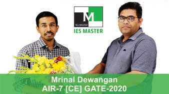 Boquet-Mrinal-Dewangan-GATE-2020-Topper--AIR7-CE