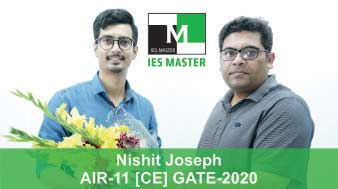 Nishit-Joseph-GATE-2020-Topper--AIR11-CE