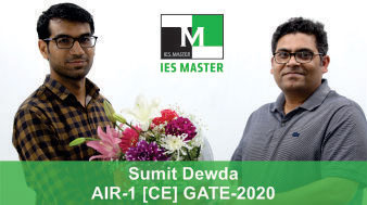 Sumit-Dewda-GATE-2020-Topper-AIR1-CE