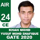 KHAN-MOHD-YUSUF-MOHD-SHAFIQUE---GATE-2020-Topper-AIR24-CE