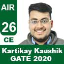 Kartikay-Kaushik--GATE-2020-Topper-AIR26-CE
