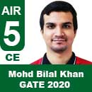 Mohd-Bilal-Khan-GATE-2020-Topper--AIR5-CE