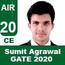Sumit-Agrawal-GATE-2020-Topper--AIR20-CE