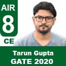 Tarun-Gupta-GATE-2020-Topper--AIR8-CE