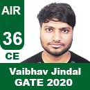 Vaibhav-Jindal-GATE-2020-Topper-AIR36-CE