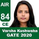 Varsha-Kushwaha-GATE-2020-Topper-AIR84-CE